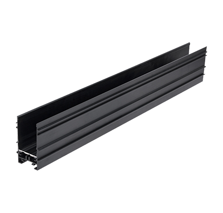 magnetic track rails