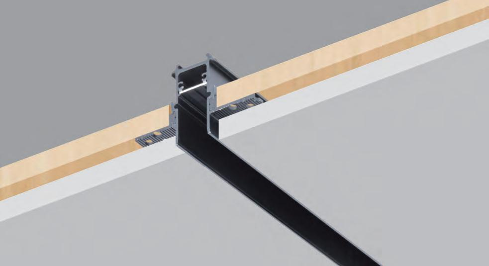 203 recessed install track rails