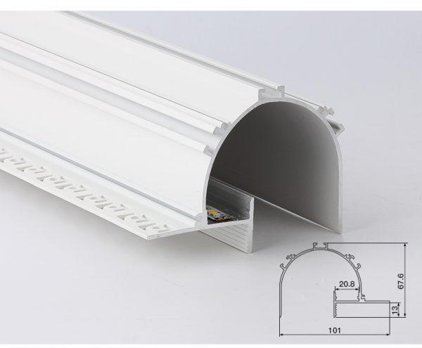 Aluminum profile lights