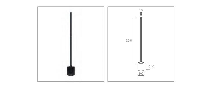 magnetic floor lamp