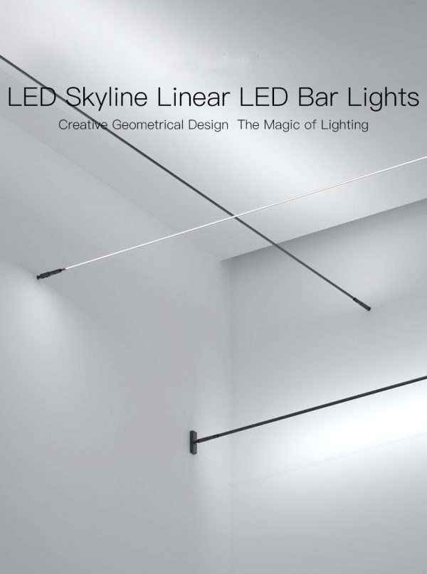 Skyline linear lights
