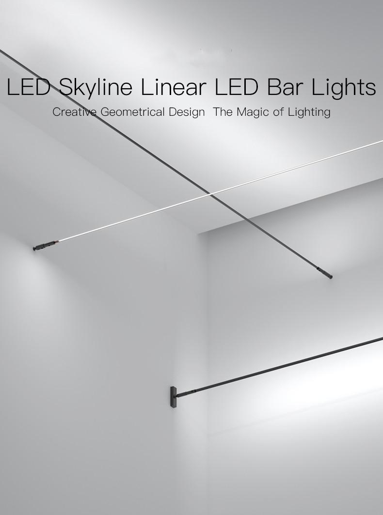 Skyline linear lights