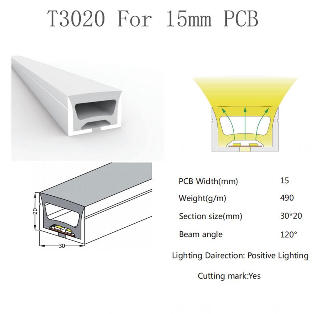 30X20mm flexible linear lights