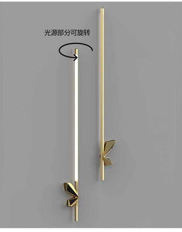 Sword wall lights