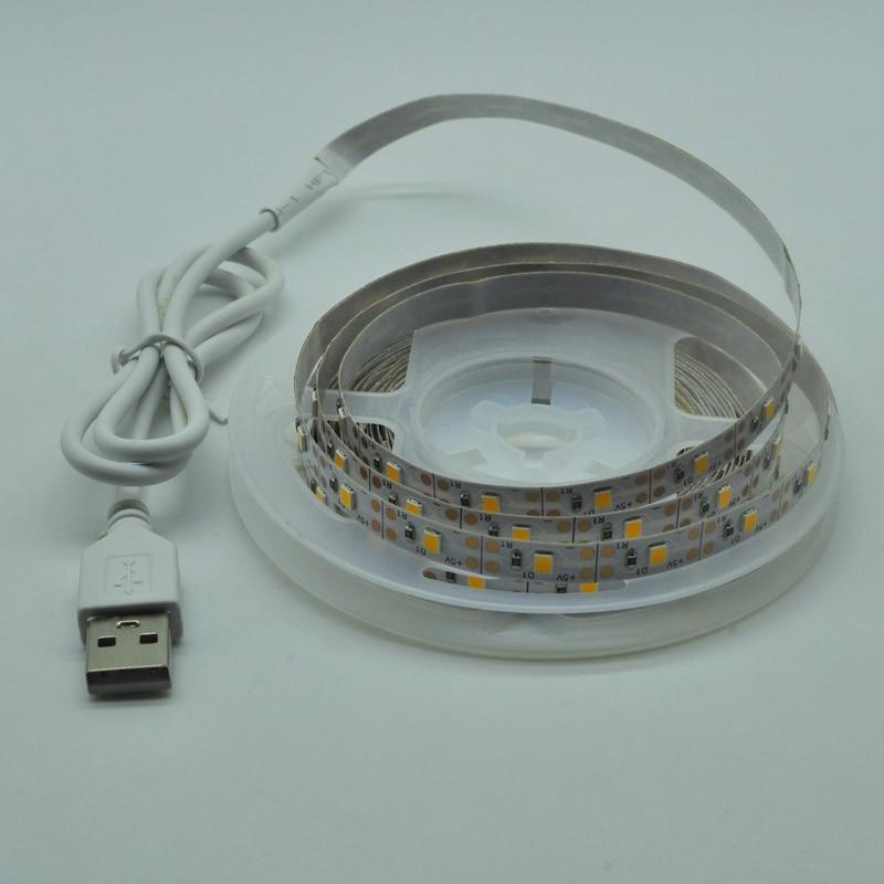 LED Lights StripS USB Infrared Control RGB SMD2835 DC5V 1M 2M 3M 4M 5M Flexible Lamp Tape Diode TV Background Lighting luces LED