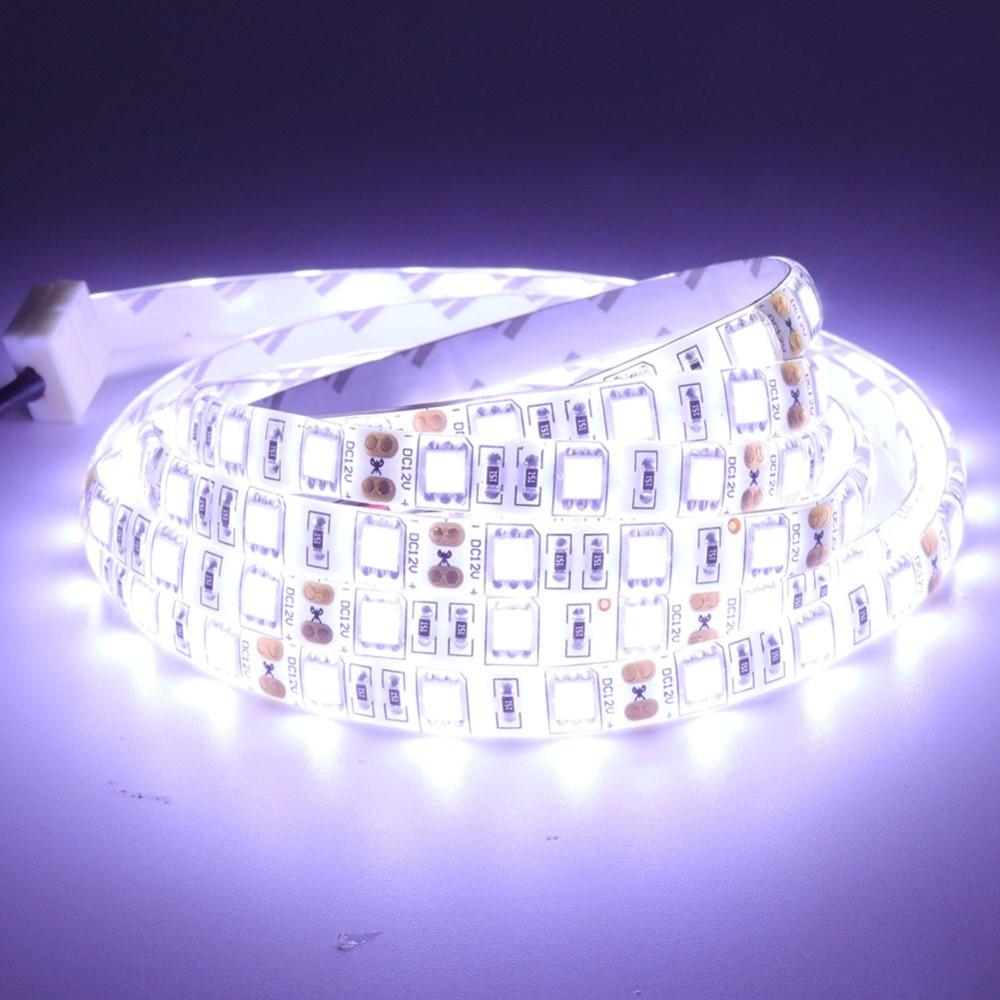 DC 12V LED Strip 60leds 120leds/m SMD 5630 5730 Lights 5050 2835 5054 Flexible Tape Ribbon Lamp Led Strip Light 5m/lot