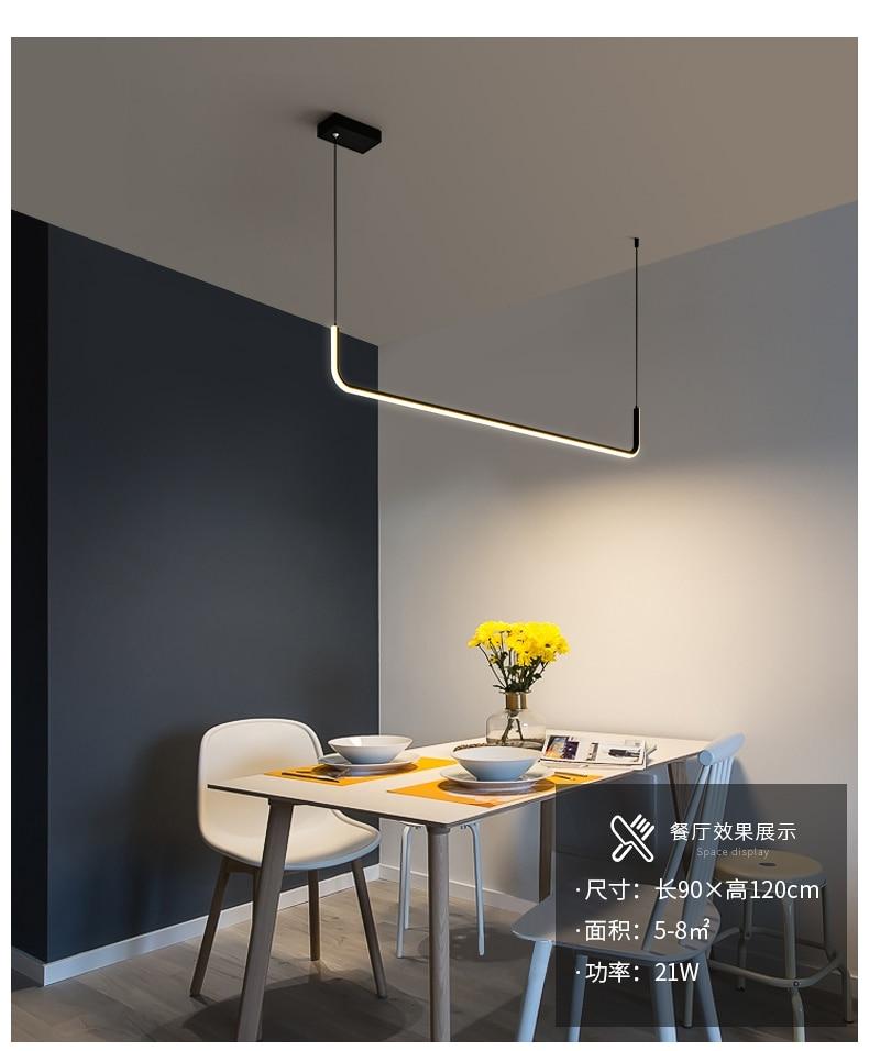 LICAN Lifestyle LED Pendant Light for Kitchen Office Lustre Lamparas De Techo Colgante Moderna Suspension Luminaire Pendant Lamp