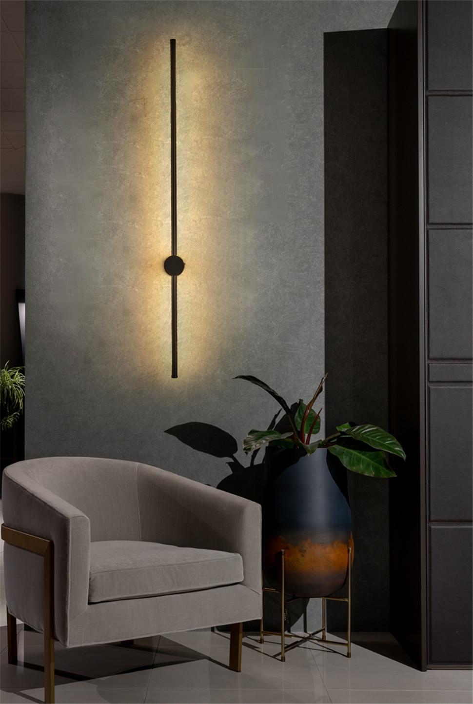 Modern LED Wall Lamp Bedroom Decoration Home Mirror Wall Light Office Hotel Living Room Dining Room Indoor Lighting wall lights