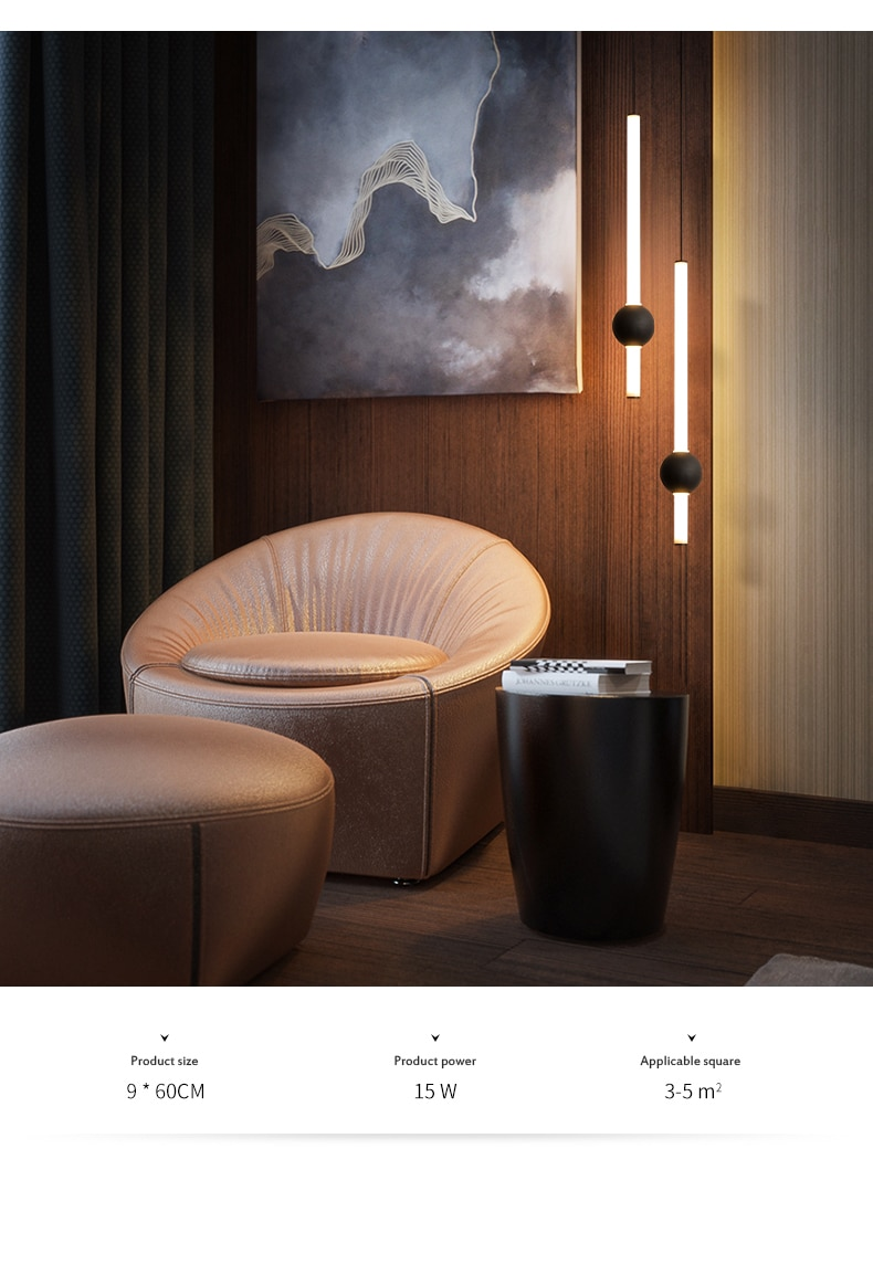 Bar counter long chandelier simple personality bedroom bedside lamp creative coffee milk tea shop decorative chandelier