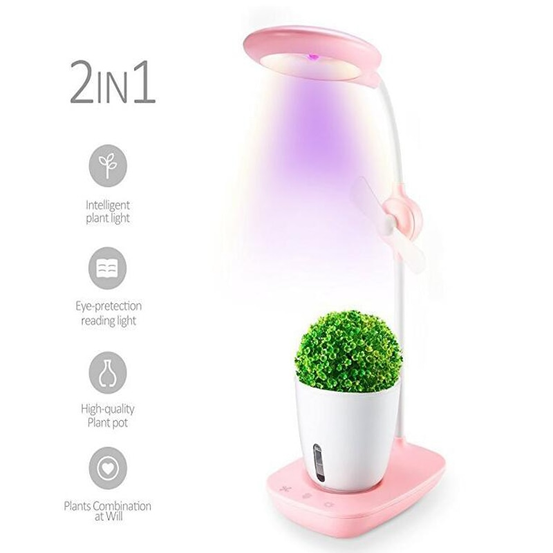 Full spectrum plant growth lamp for indoor seeds vegetable flower plant box greenhouse hydroponic soilless culture Potted