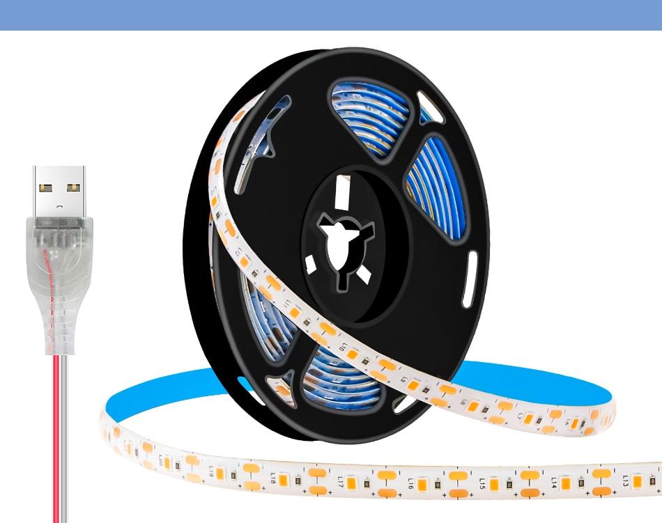 5V USB Plants Flower Seed Control Grow Light Strip Full Spectrum LED Phyto Lamp Hydroponics Lampada Growing Tent 0.5 1 2 3 M