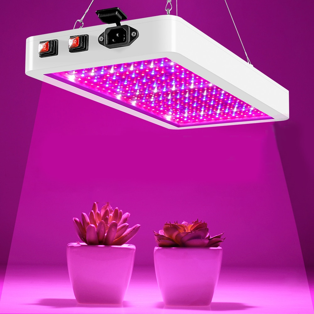 Growing Lamps LED Grow Light Full Spectrum 25W-80W Greenhouse Grow Tent Hydroponic Phyto Lamp Seed Veg Grow Light Indoor Plant