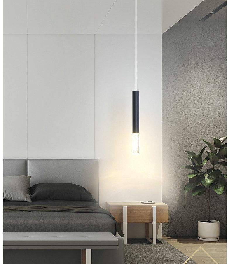 Modern Long Cable Pendant Lamps for Bedside Living Room Foyer Lighting Nordic LED Ceiling Hanging Pendant Lamp Warm White Light