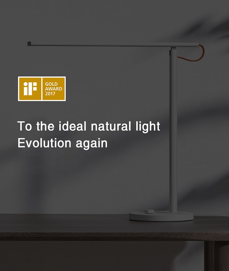 Xiaomi Table Lamp 1S Smart Floor Desk Office Learning Portable LED Reading Light Foldable 4 Modes Of Eye Protection Light Mihome