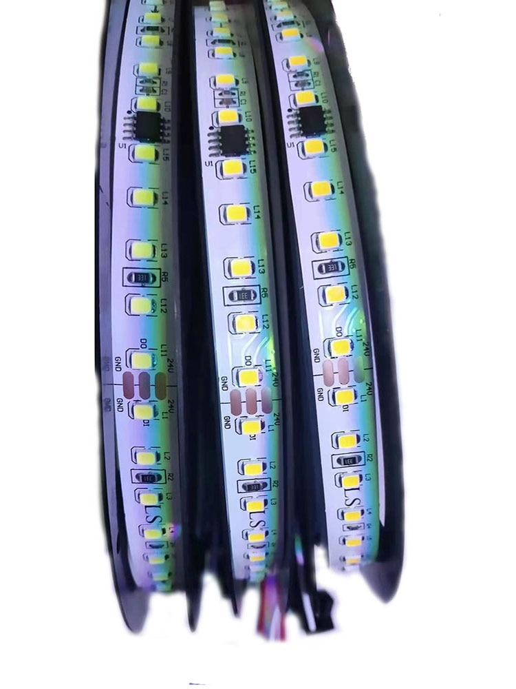 WS2811 Led Strip Running Water Light 120led/M SMD2835 Use In Sitting Room Bedroom Roof Decoration With Led Controller DC24V
