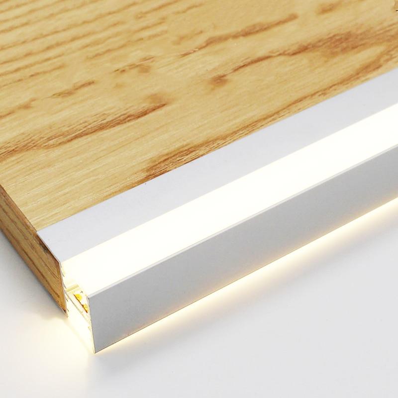 LED Cabinet Layer light Splint Clip lamp Up down luminescence Aluminum strip lights 18mm display case sideboard cocktail Liquor