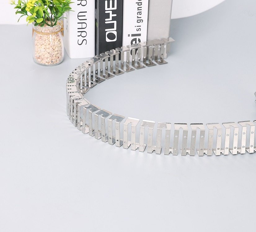 8mm 10mm 12mm Silicon LED Neon Bracket Skeleton Stainless Steel Clips Fixing LED Strip Light LED Connector IP67 Waterproof Tube