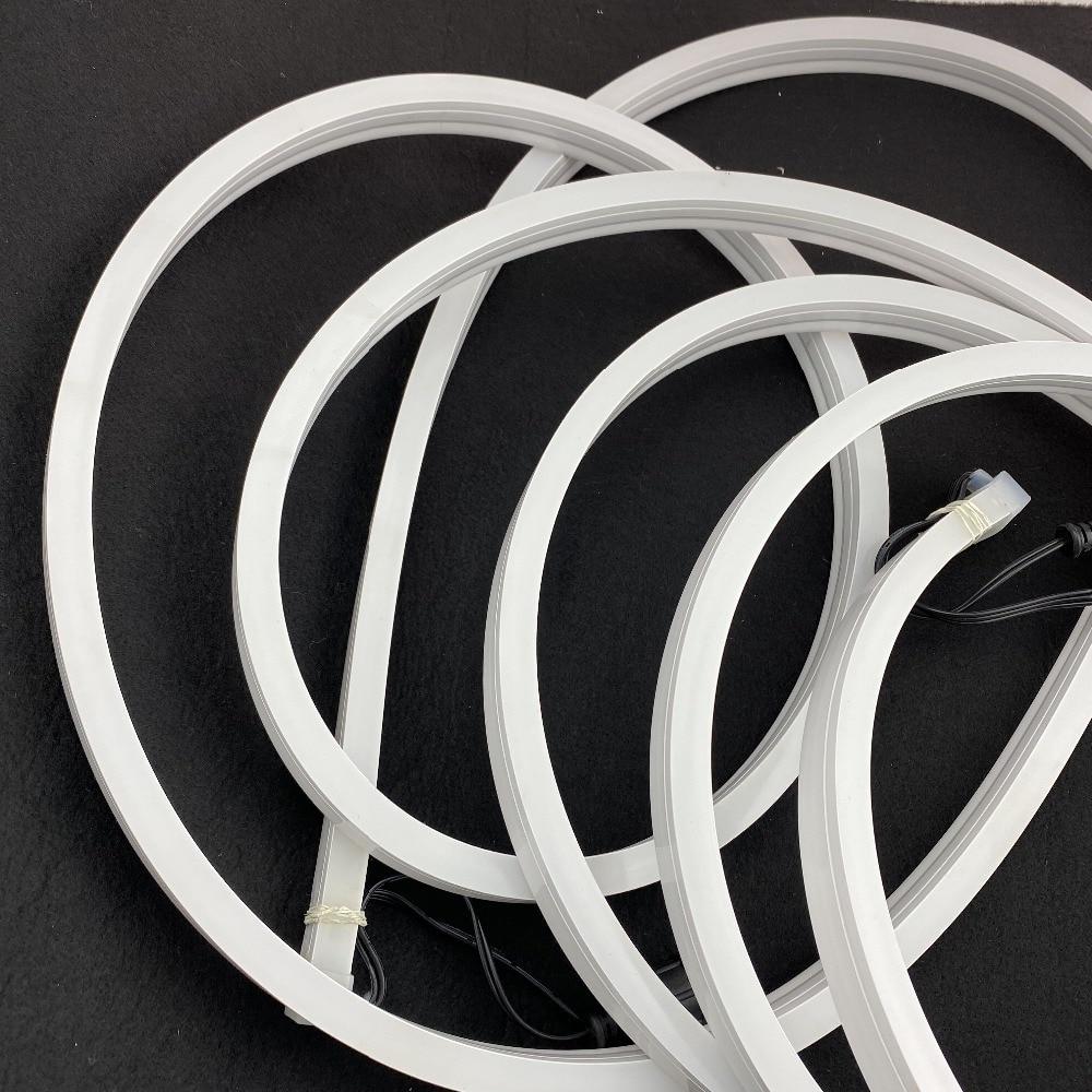 12mm*20mmm size,5m DC12V WS2811 60LEDs/m(20pixes/m) LED smart pixel neon strip;flexible;IP67 rated;13.5mm pigtials