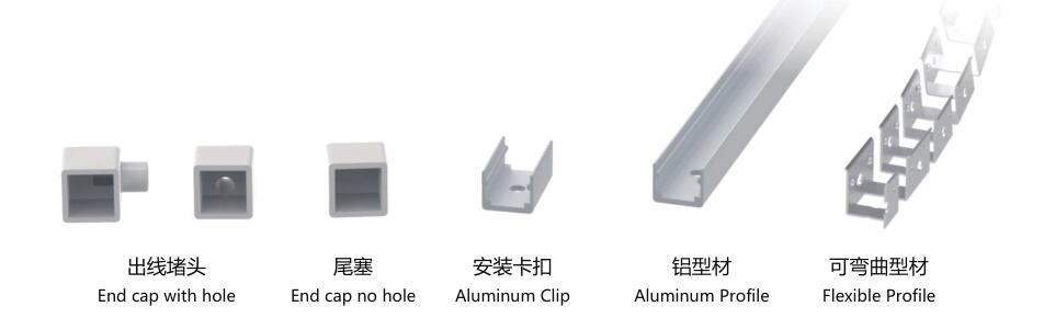 Size:12mm*12mm,silicon frosted neon tube,side view,used for PCBWidth:8mm;120/180° Beamangle