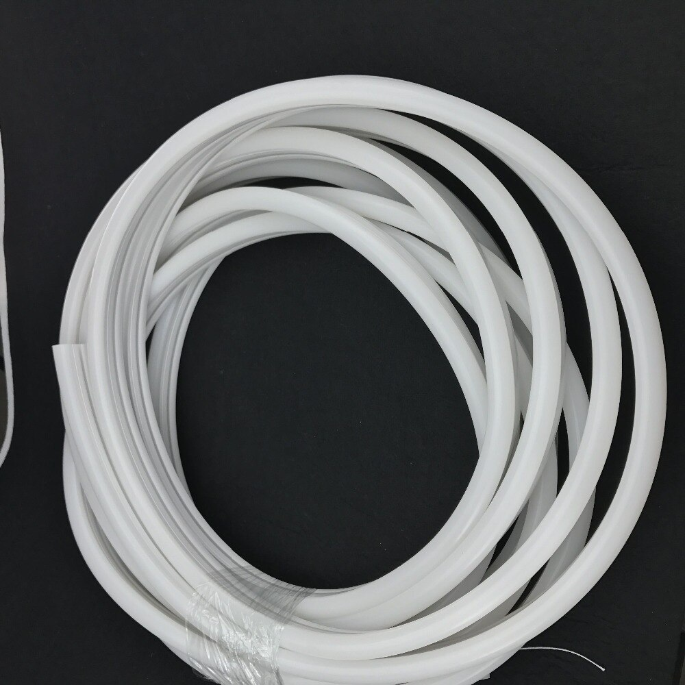 Size: 12mm*25mm,silicon frosted neon tube,side view,used for PCBWidth:12mm;270° Beamangle