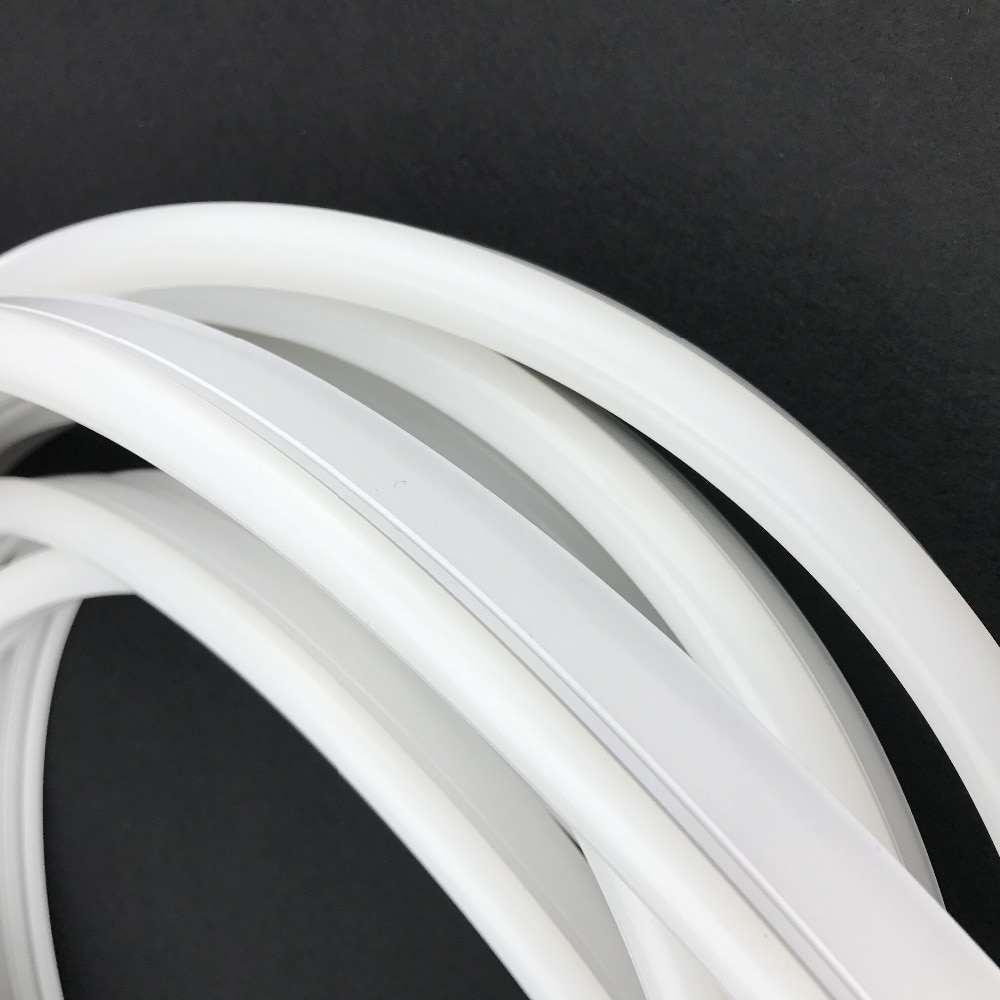 Size: 10mm*23mm,silicon frosted neon tube,side view,used for PCBWidth:10mm;270° Beamangle