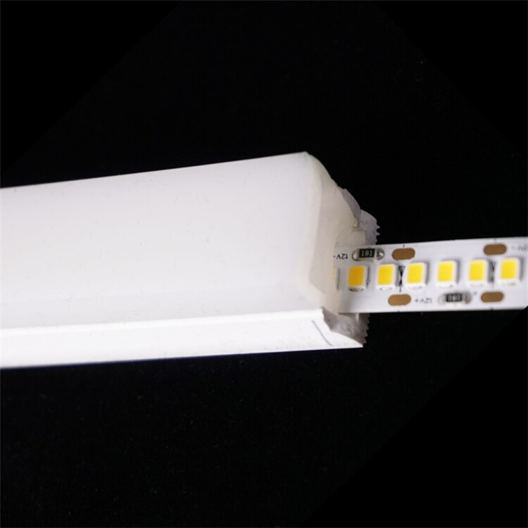 12VDC 20*20MM Neon Flex Tube,18W/M Surface Mounted 3 Side Emit Linear Strip,Flexible Silicone Housing Landscape Outline Light
