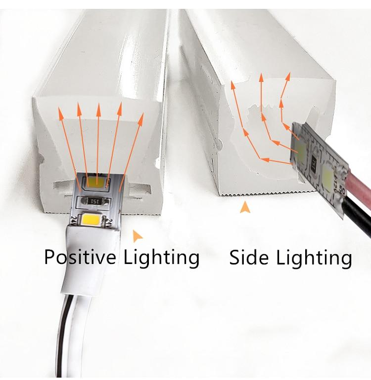 12VDC 10*18mm Neon Flex Rope,18W/M WaterProof Linear Strip,Flexible Silica Gel Luminous characters Sign Advertisement DIY Logo