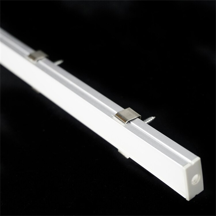 5/10-Pack 3.3FT 1M LED Strip Channel With Milky Cover ,Under Cabinet U Shape 17.5MM Duall 5050 5630 Tape Light Aluminium Profile
