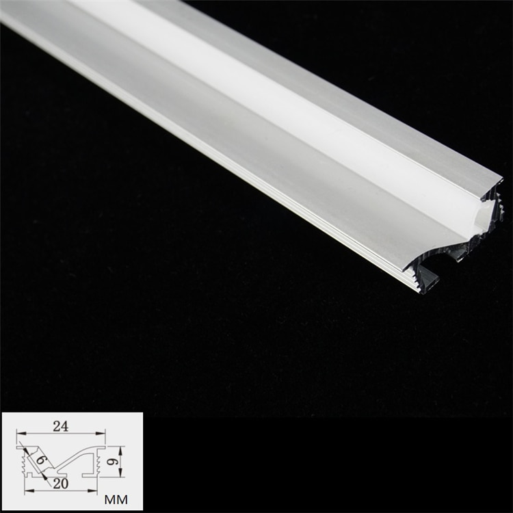 10-30 Pieces 200cm 80 inch 45 Degree Sloped Recessed Wardrobe Strip Aluminium Channel,Cabinet Closet Embedded 5mm Tape Profile
