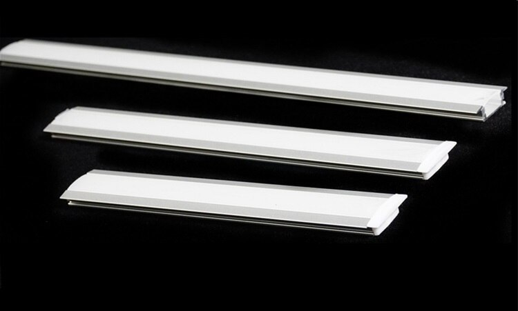 5Pieces A Lot 30 40 50CM Cabinet Bar Light Channel,YW U V LED Strip Aluminium Profile ,Corner Surface Mounted Recessed Diffuser