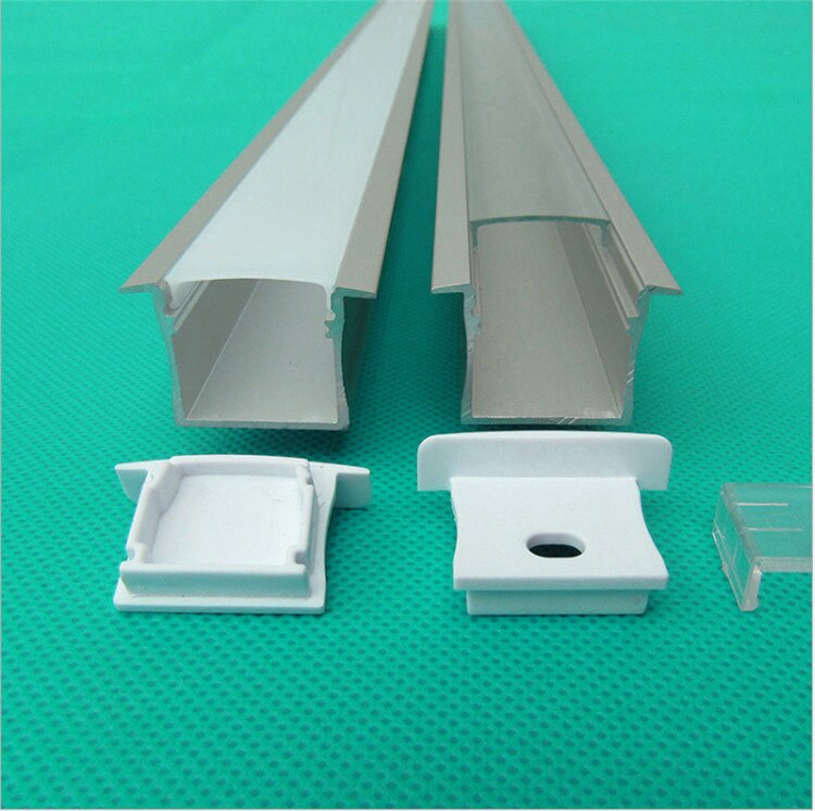 5-30pcs 40inch 1m led aluminium profile for 20mm strip,W32mm*H20mm built in ,embedded linear light,wall washer housing