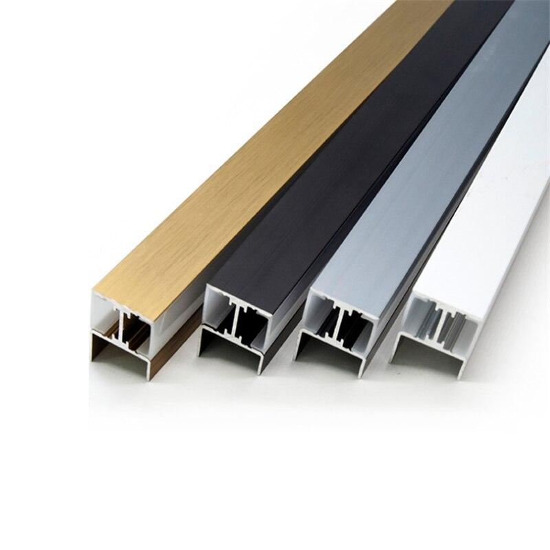 30Pieces 100cm 40 Inch 18MM Panel Clamp LED Aluminium Channel,Up and Down Illuminate Cabinet Wardrobe Showcase Bookcase Profile