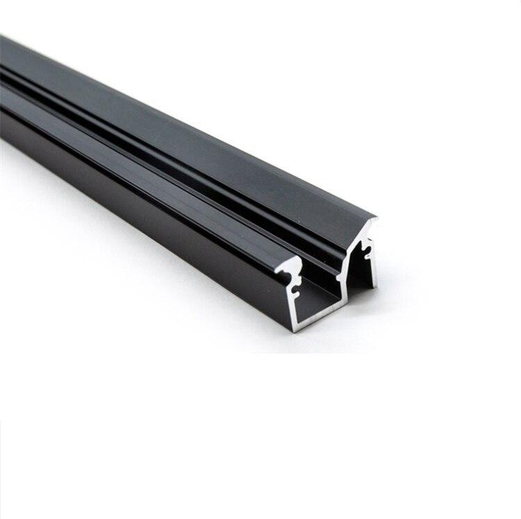 30Pieces 100cm 40 Inch 45Degree Slope LED Aluminium Channel,Anti Glare Recessed 12V Strip Wardrobe Bookcase Cabinet Bar Profile