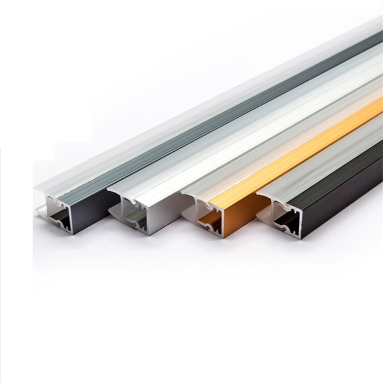30Pieces 100cm 40 Inch 8MM Thick Glass LED Aluminium Channel,Clamp Glass Washer 12V Strip Light Show Case Cabinet Bar Profile