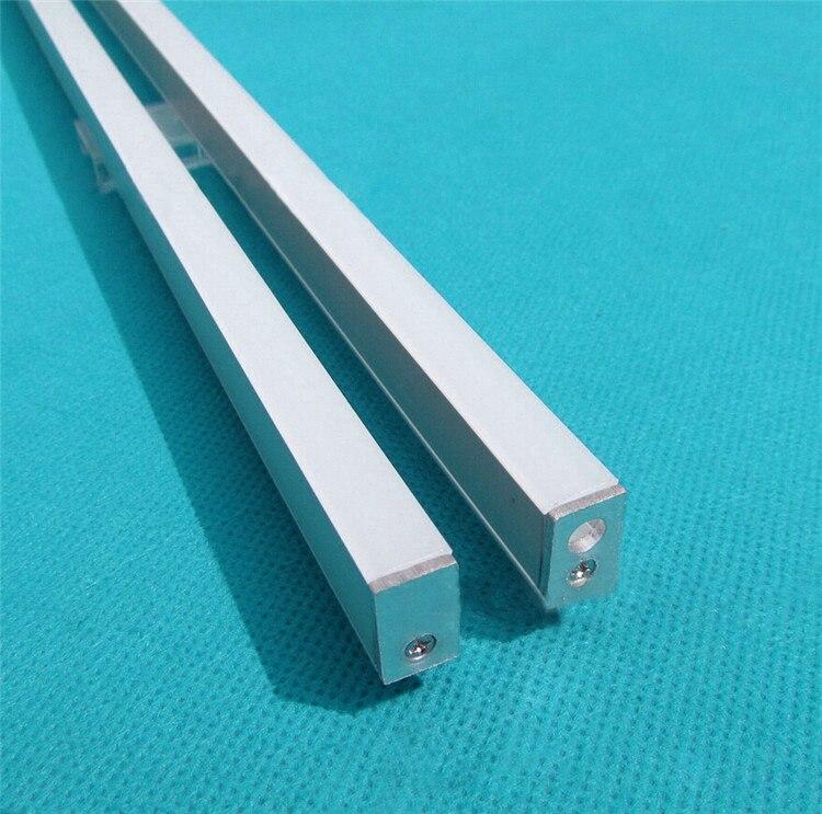 10pcs/lot 40inch 1m led strip channel , ultra slim 8mm wide led aluminium profile matte for wardrobe ,crack hidden