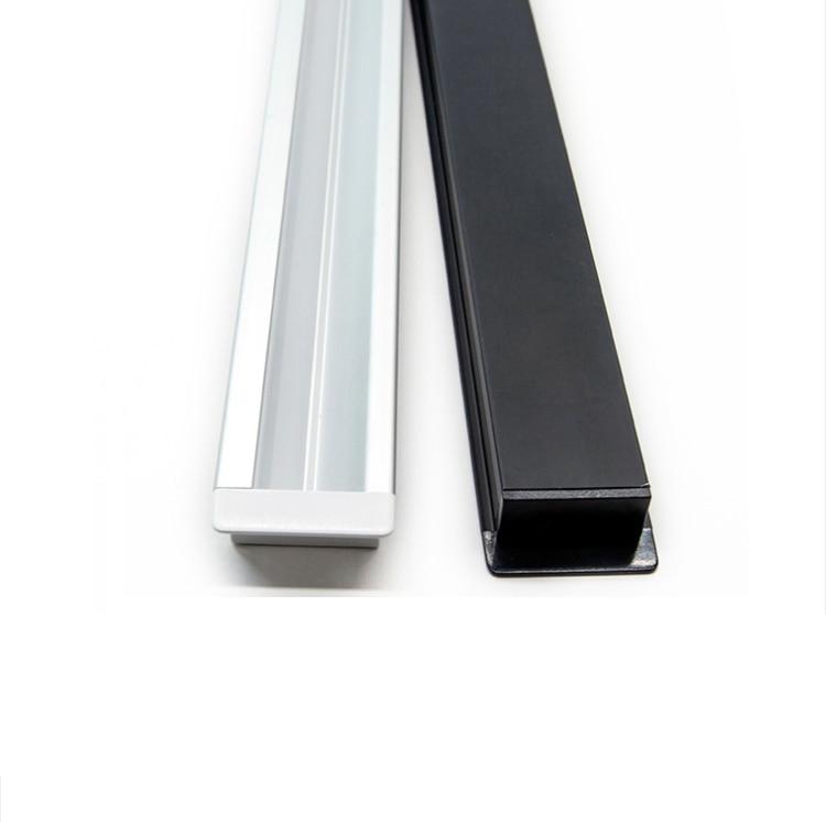 30Pieces 100cm 40 Inch Recessed 45Degree Illuminate LED Aluminium Channel,8mm 12V Strip Light Cabinet Wardrobe Built In Profile