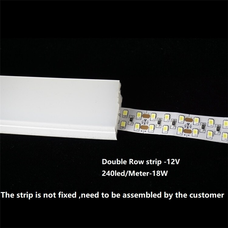 12VDC LED Neon Strip Rope,30MM Wide Surface Emit Silicone Embedded 120° beam Flexible Tape Landscape Outline Linear Neonflex