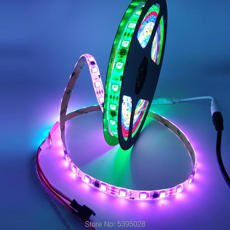 WS2811 Led Strip With IC Smart Driver Chip AddressAble LED Strip Light Tape Lamp Programming 30/60leds/m DC12v