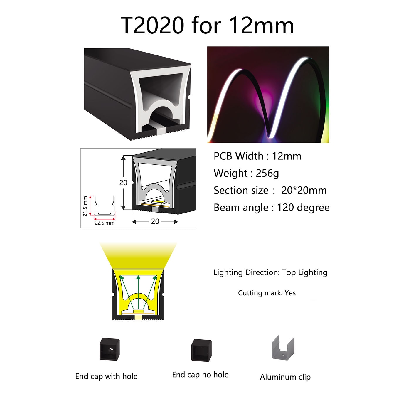 WS2812B WS2811 LED Neon Rope Tube SK6812 5050 Flexible LED Strip Light Silica Gel Soft Lamp Tube IP67 Waterproof for Decoration