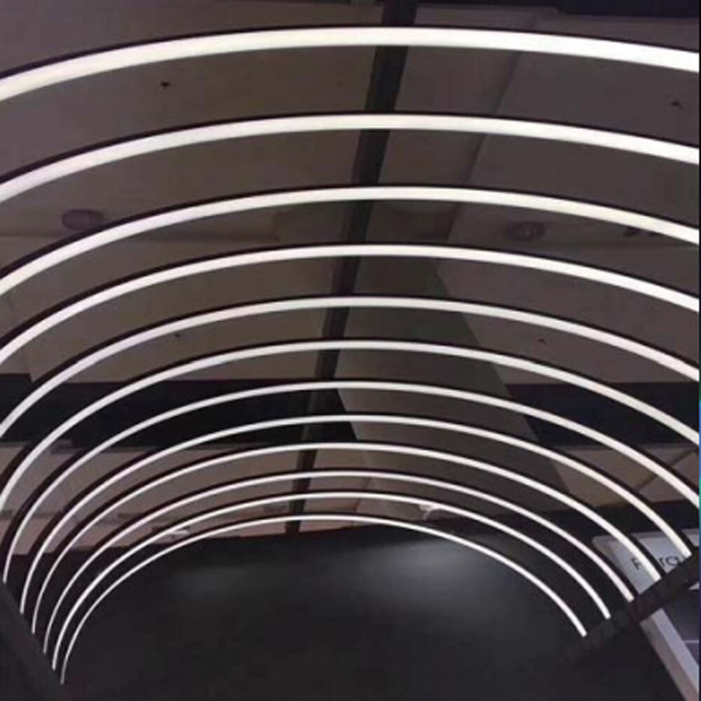 WS2812B WS2811 SK6812 LED Black Neon Rope Tube For Silica Gel Flexible Strip Light Soft Lamp IP67 Waterproof Home Decoration