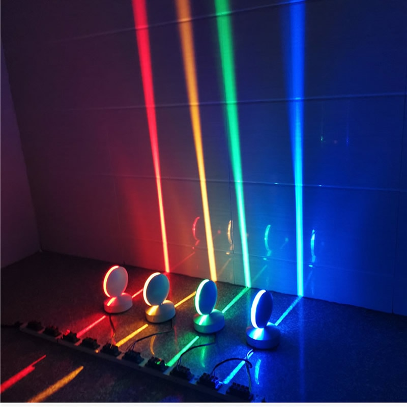 12W LED wall light RGB Remote Windows sill Lamp Home Door frame Corridor Balcony Garage Hotel Restaurant Lighting IP67 110V 220V