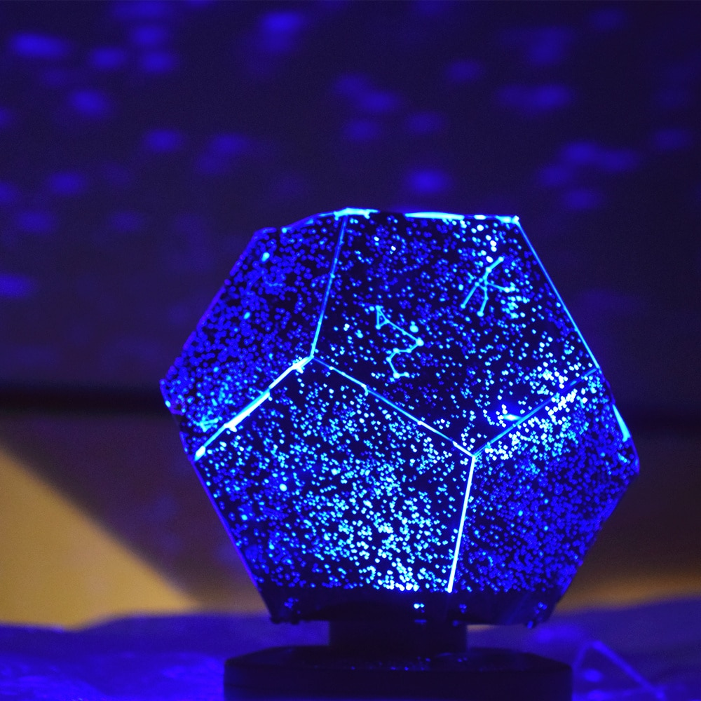 Star Projector Galaxy Lamp Starry Sky Night Light Led Table Lamp Space lighting Room Planetary Nightlight Planetar Gift For Kids