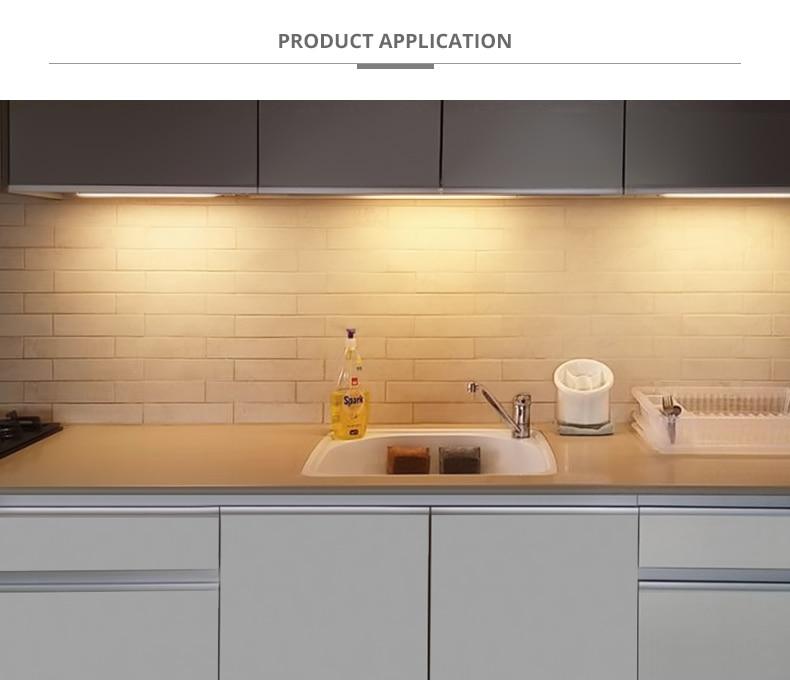 Closet Cabinet Lights For Kitchen Hand Sweep Light LED 12V cocina Wardrobe LED Lamp Motion Sensor Bar Light luminaria Lighting